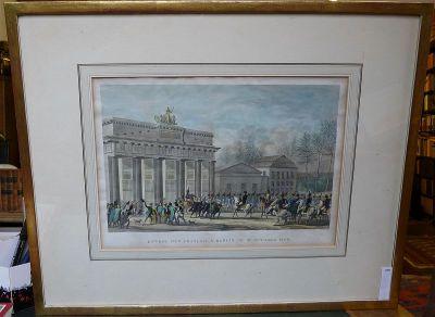 kein Kunstdruck Kunstverlag Christoph Falk Einfarbige original Radierung Oberasbach Rathaus von König als loses Blatt kein Leinwandbild Graphik
